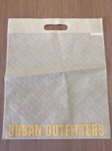 New-Urban-Outfitters-Ivory-Reusable-Shopping-Tote-Gift-Bag-13-5L-x-18H