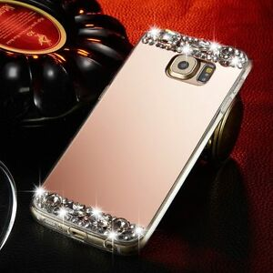 Luxury-TPU-Bling-Crystal-Diamond-Mirror-Case-Soft-Phone-Cover-For-Samsung-Galaxy