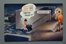 R&L Postcard: Bamforth 2285 Gents Toilet Humour
