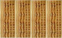 Nrn Designs Wedding Sepia Border Scrapbook Stickers 4 Sheets