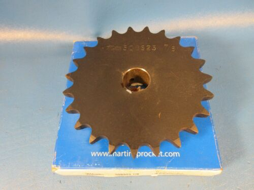 "0.875/"" Bore Martin  50BS23 7//8 Finished Bore Sprocket"