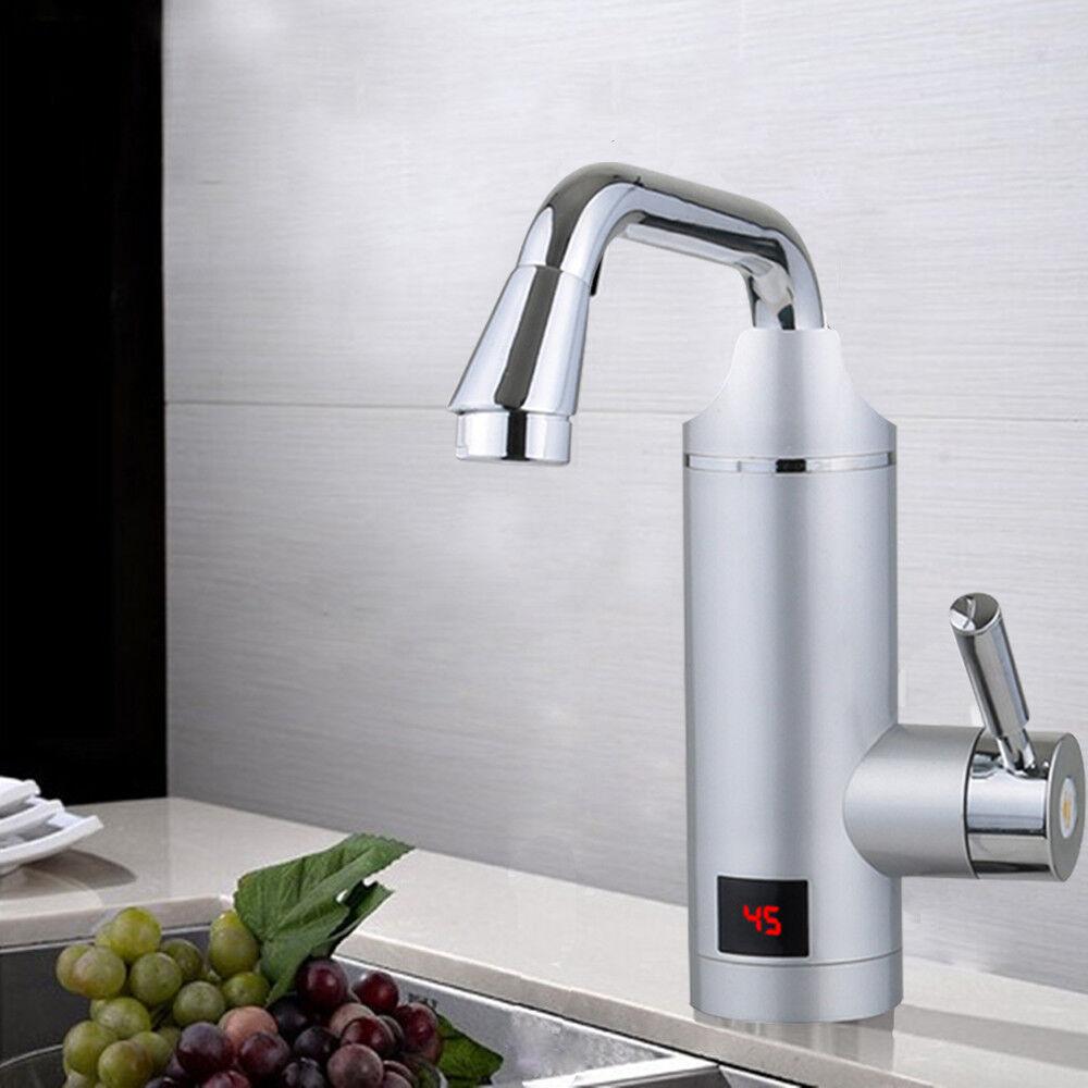 Küche Elektrischer Wasserhahn Durchlauferhitzer Sofortiger Elektrischer 3000W | Zart  | Clever und praktisch  | Angenehmes Gefühl  | Vielfalt