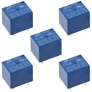 5V / 12V / 24V Mini Songle Relay SPDT 5-Pins PCB - 1st Class