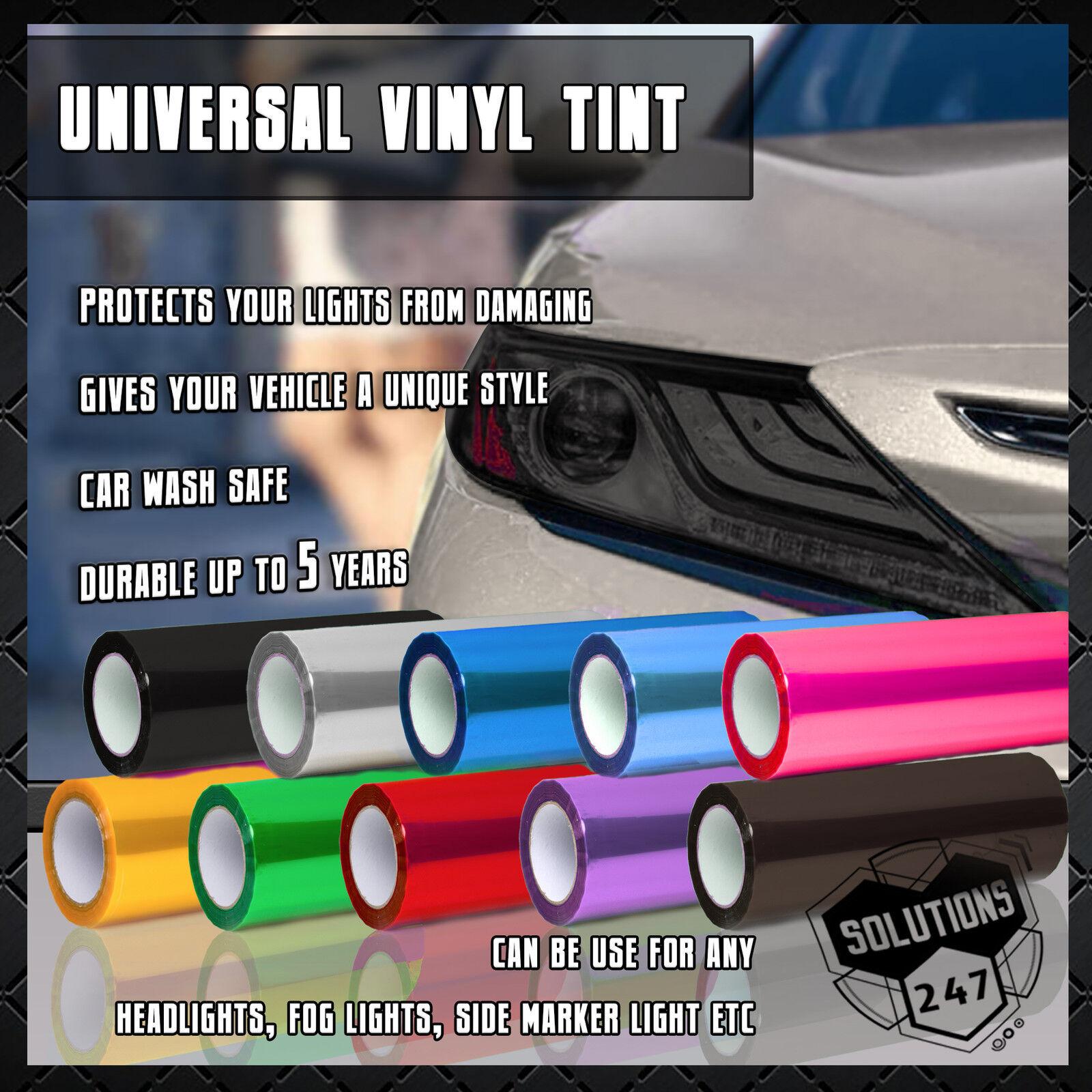 30 x 60cm Green Smoke Tinting Film Fog Tail Lights Headlights Tint Car Van Wrap