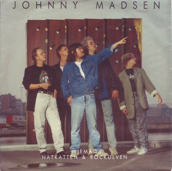 Single, SINGLE: Johnny Madsen, Hjemad, Rock, fint eks.…