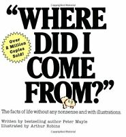 Where Did I Come From? By Peter Mayle, (paperback), Lyle Stuart Inc. , New, Free on sale