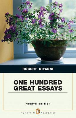 one hundred great essays robert diyanni