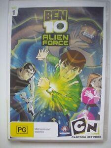 BEN-10-ALIEN-FORCE-DVD-VGC-Volume-1