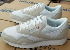 online store buying new 60% clearance Details about REEBOK CLASSIC NYLON 6390 MEN'S WHITE / LIGHT GREY