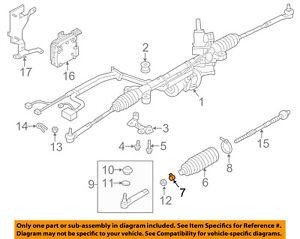 OEM Subaru Power Steering Rack Gear Boot for 98-03 Impreza Forester