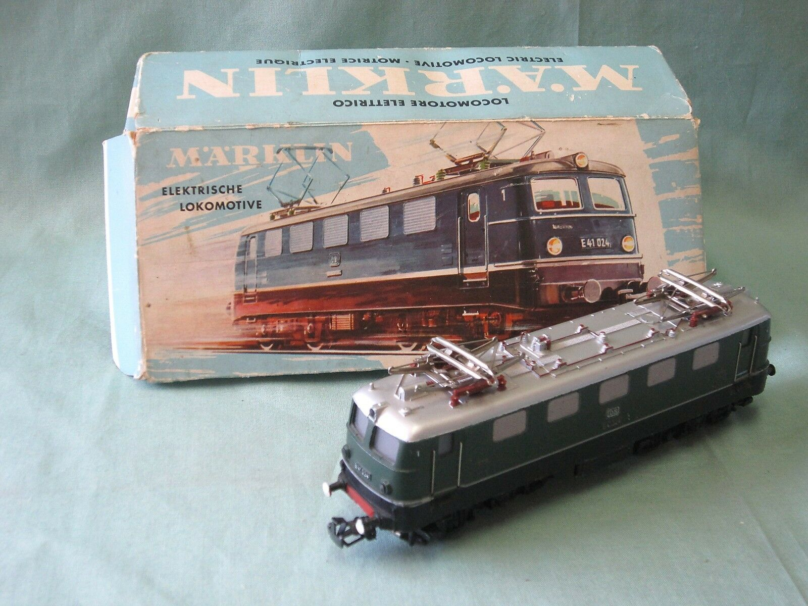 Dv5787 marklin elektrische lokomotive locomotive electrique e41024 ref 3037 oh