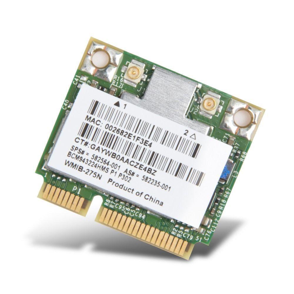 Broadcom BCM943224HMS Wireless wifi mini pcie Card for HP 582564-001 582235-001