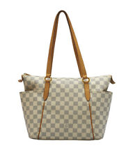 Louis Vuitton Totally PM Azur Coated Canvas Tote