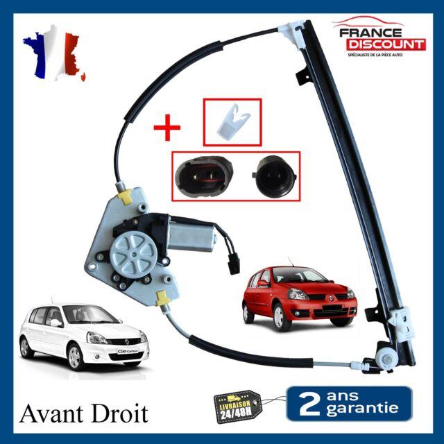 Alzacristalli Anteriore Destro per Renault Clio 2 IN 5 Porte = 7700842240