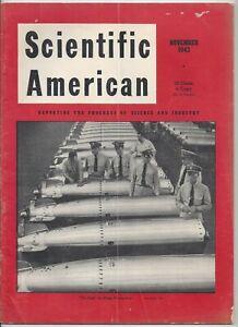 Scientific American Magazine November 1943 WWII Torpedoes