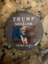 Trump Punisher 2020 campaign button