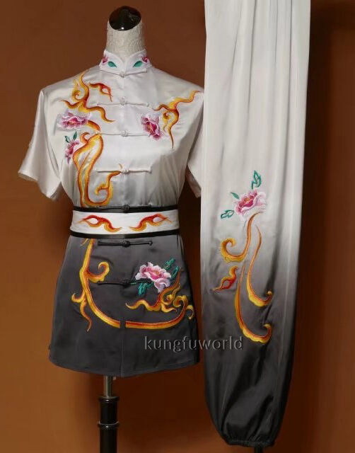 Embroidery Performance  Kung fu Tai   Uniform Martial arts Changquan Suit  wholesale prices