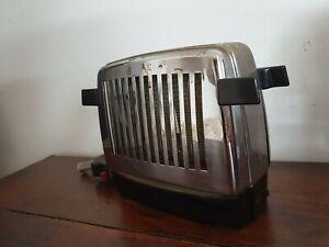 50er 60er Jahre Klapptoaster Toaster Siemens Edelstahl 50er 60er Vintage
