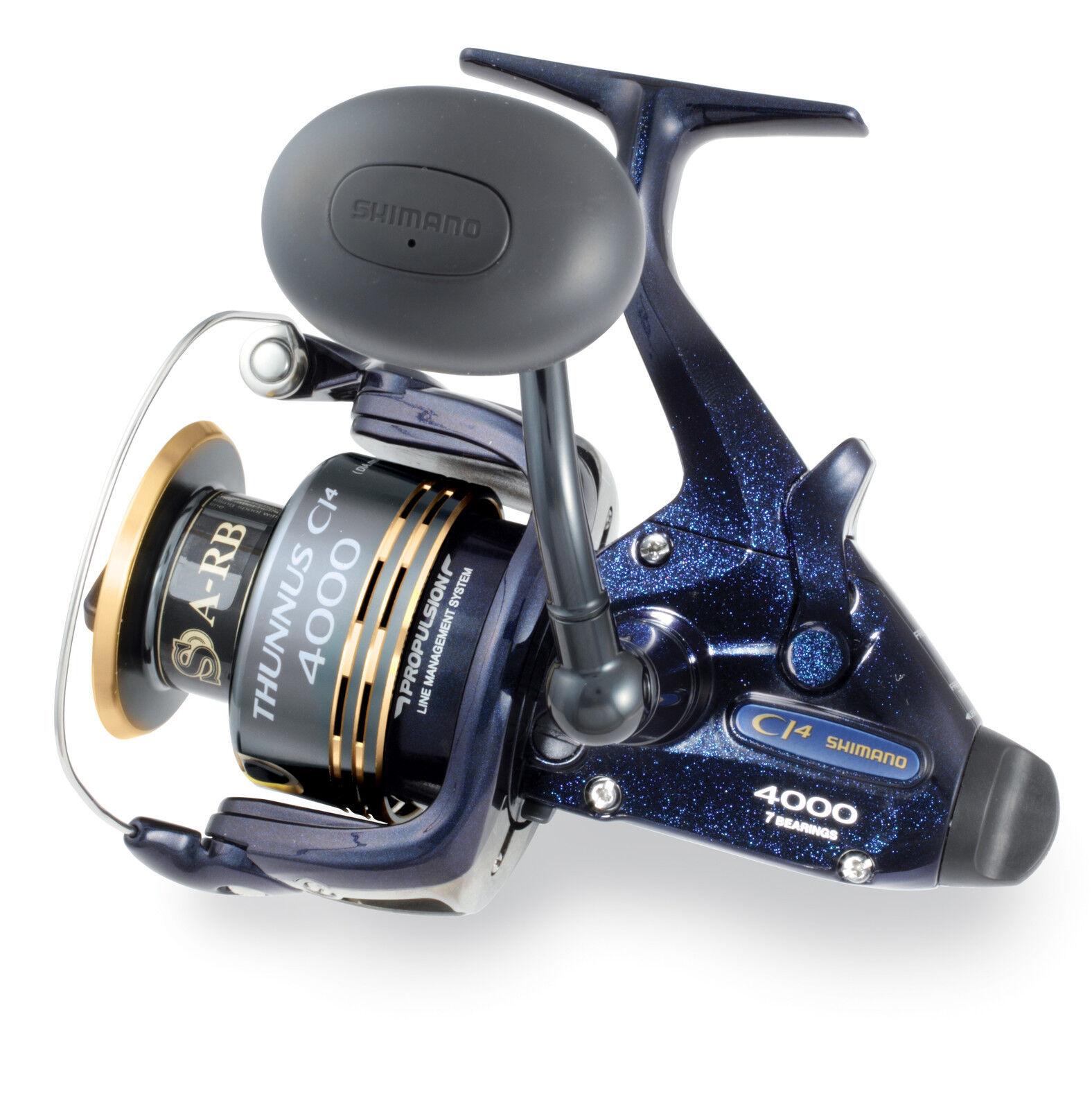 Shimano Thunnus CI4 4000 Spinning Reel TU4000CI4 -  FREE SHIPPING -  100% authentic