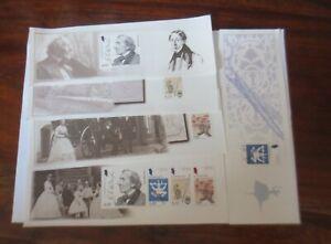 Denmark-Heftchenblatter-From-Prestige-Stamp-Booklet-2005-4837