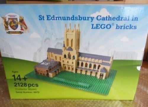 LEGO Certified Professional Cattedrale di St edmundsbury  grande  1/500 mattoni brillante