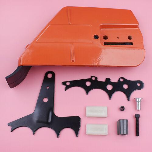 Chain Clutch Cover Bumper Spike Strip Catcher Kit For Husqvarna 362 365 371 372