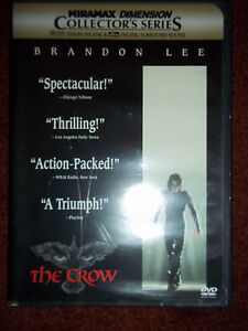 Details about 2 dvds The Crow City of Angels Wicked Prayer