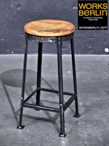 1/10 - Industrial Tabourets De Bar Pour Une Grande Comptoir-worksberlin.com-m Fr-fr Afficher Le Titre D'origine