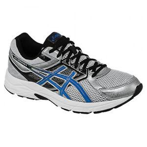 Asics Gel-Contend 3 Silver Blue Running Shoes Mens