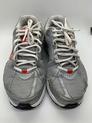 Tiempo de día Biblia Reembolso  Nike Impact Groove Athletic Women's Shoes Silver & Red Size 7 | eBay