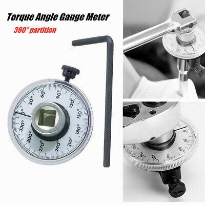 "New 1//2/"" Drive Angle  Meter Measurer Torque Gauge Rotation Tester Tool"