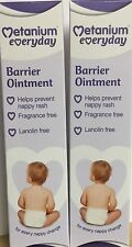 2 x Metanium Everyday Barrier Ointment 80g