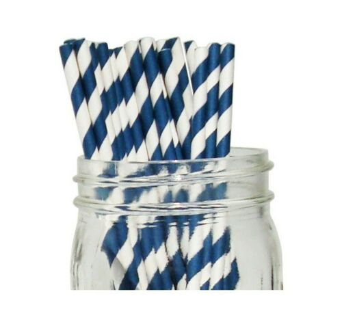 25x Eco-FRIENDLY DOTTED STRIPED /& FLORAL PAPER DRINKING PARTY STRAWS *UK