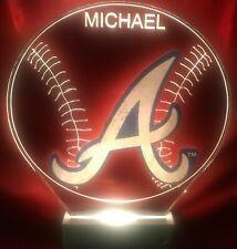 MLB Atlanta Braves Acrylic Night Light