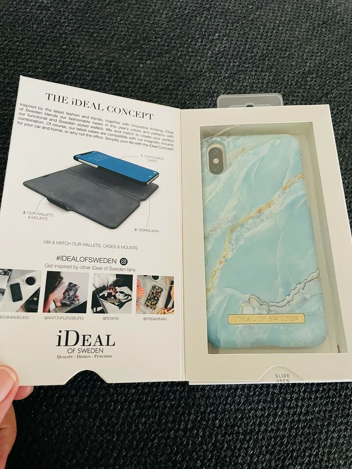 iPhone XS, 8 GB, blå