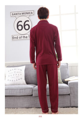 Details about  /New Mens Cotton Simply Lucky Red Long Top and Trousers Pyjamas Pajamas menpjs15