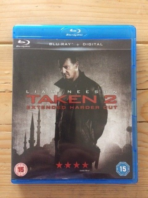 Taken 2 Blu-ray (2013) Liam Neeson - ONLY WATCHED ONCE!