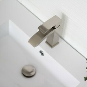 Pop-up Drain with Overflow D-701B Brushed Nickel