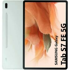 "Samsung Galaxy Tab S7 FE 5G 12,4"" T736 4GB + 64GB Tablet WIFI + 5G Light Green"