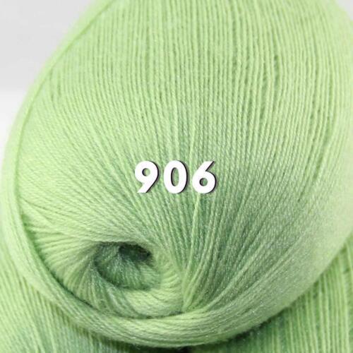 Sale New 1 ball x50gr LACE Soft Crochet Acrylic Wool Cashmere hand knitting Yarn