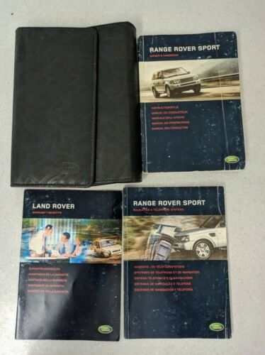 RANGE ROVER SPORT HANDBOOK OWNERS MANUAL WALLET NAVI 2005–2010 PACK O-495