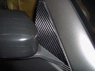 350Z 03-08 CARBON FIBER SIDE MIRROR BASE COVERS