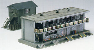 Greenmax-No-2134-Station-Railroad-Office-1-150-N-scale