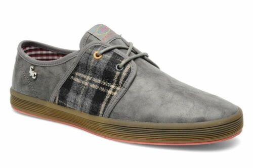 Spam Mens London Mode Gris Canvas 2 Base Lace Up nUTgaq