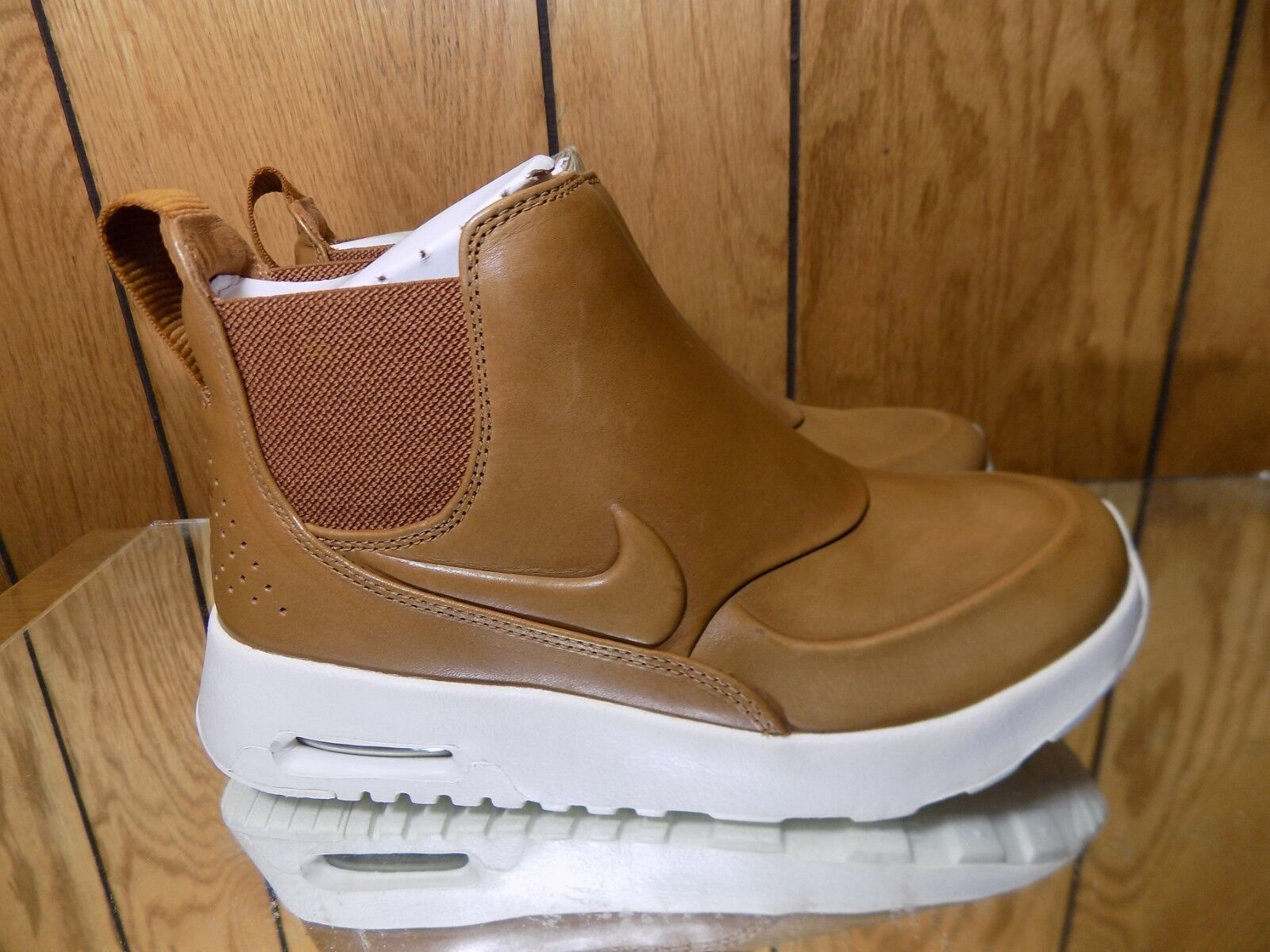 Nike Air Max Thea Mid Casual shoes Boots Ale Brown 859550-200 Wmns Sz 5