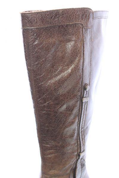 Amica Stiefel braun Leder Variobündchen (UK Vintage Style Gr. 41 (UK Variobündchen 7) 6d1cd4