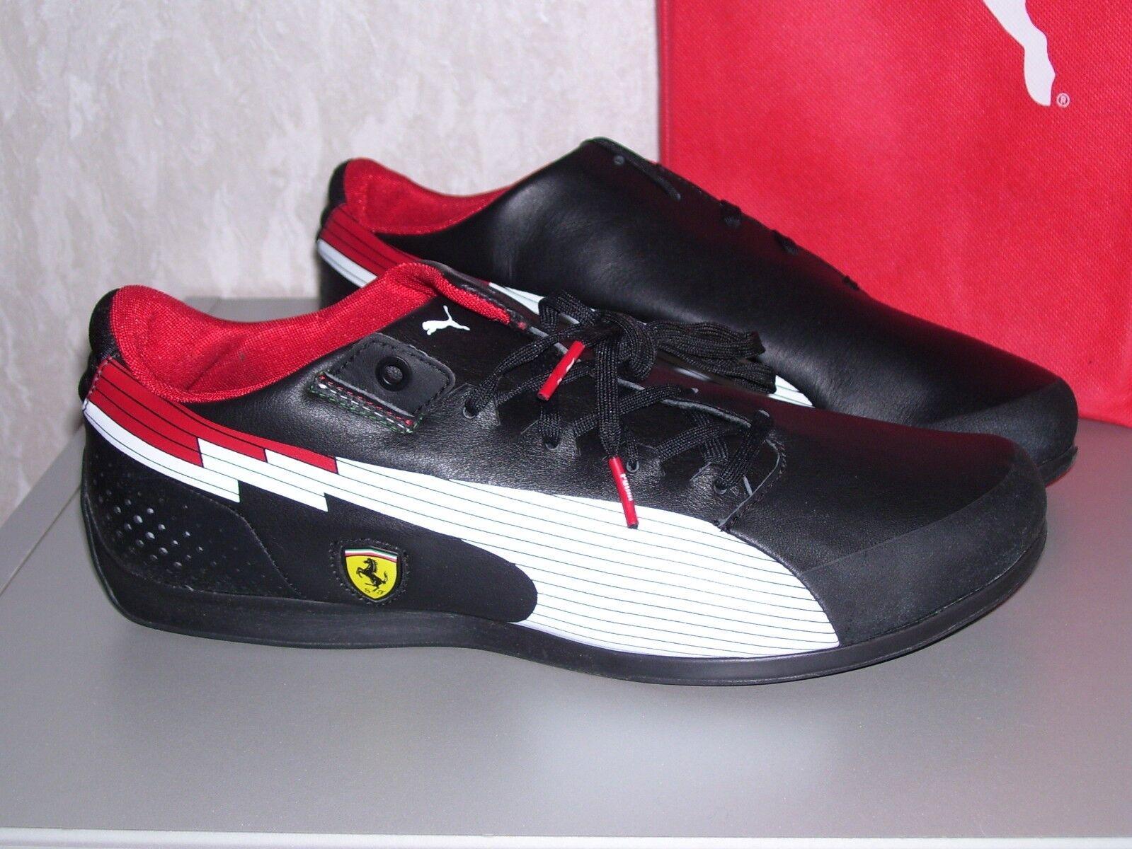 PUMA evoSPEED Low SF schwarz Ferrari Leder Turnschuhe Sneaker schwarz SF 40 41 42 46 neu 0f6b8a