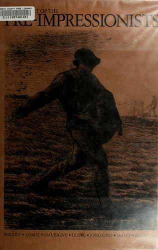 Graphic Art of the Pre-Impressionists by Michel Melot-ExLibrary