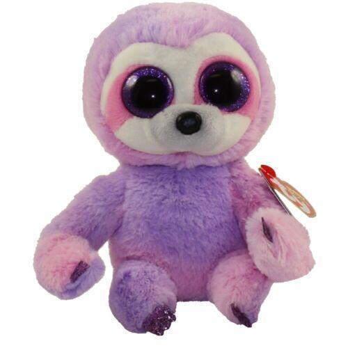 "2019 Ty Beanie Baby Boos 6/"" DREAMY Purple Sloth Stuffed Animal Toy Plush MWMTs"