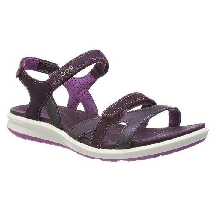 ECCO femmes SANDALS COMFORTABLE AND LIGHT WITH STRAP STRAP STRAP CLOSURE CRUISE II  IRIDESC 2941cc